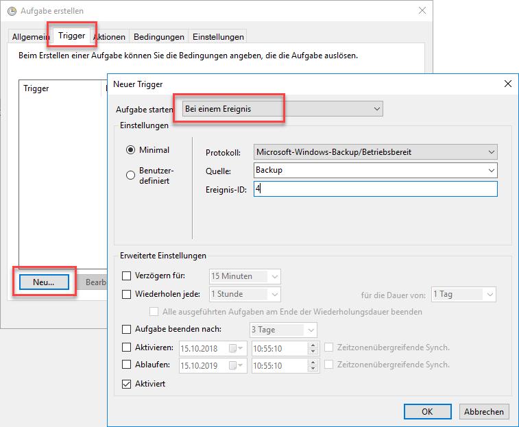 Überprüfung von Windows Backup - Jans Blog