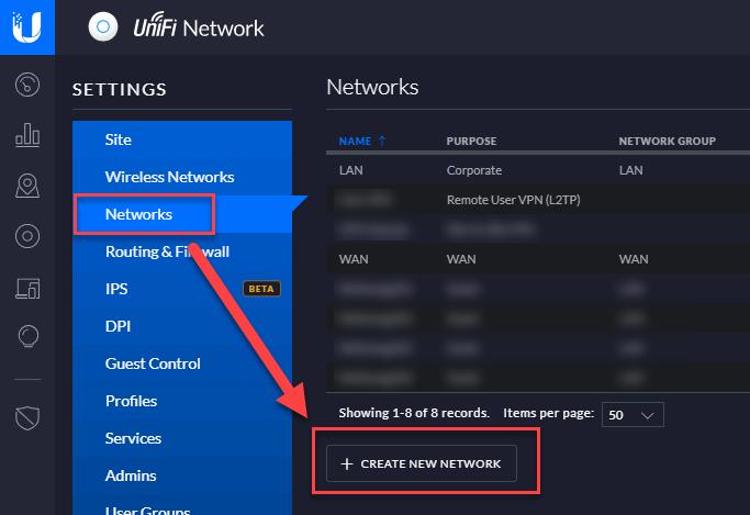 Einrichtung von einem IPSec-VPN zwischen Ubiquiti Security